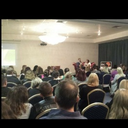 Live medium reading at Brisbane Show 2015
