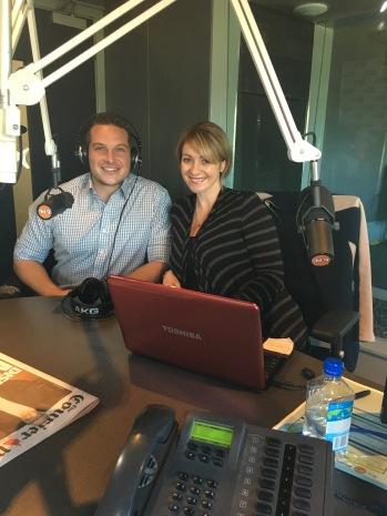Breakfast Radio Ira and Marnie