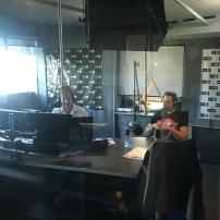 Ira giving live psychic readings on breakfast radio.